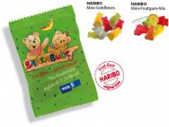 Productfoto: Haribo Mini Beren en Fruit Gum Mix