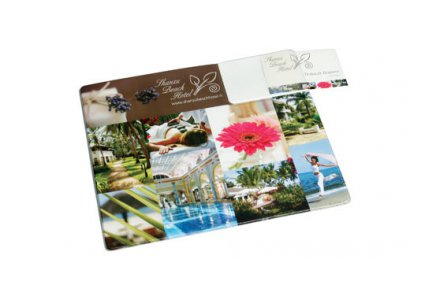 Productfoto: Muismat Business Card Armadillo