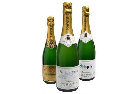 Productfoto: Champagne met Logo