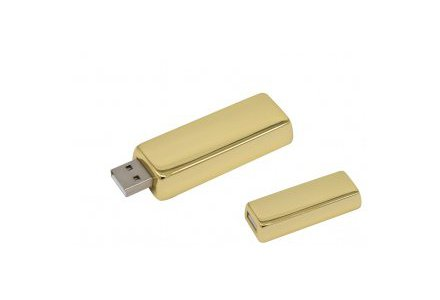 Productfoto: USB Stick Goudstaaf